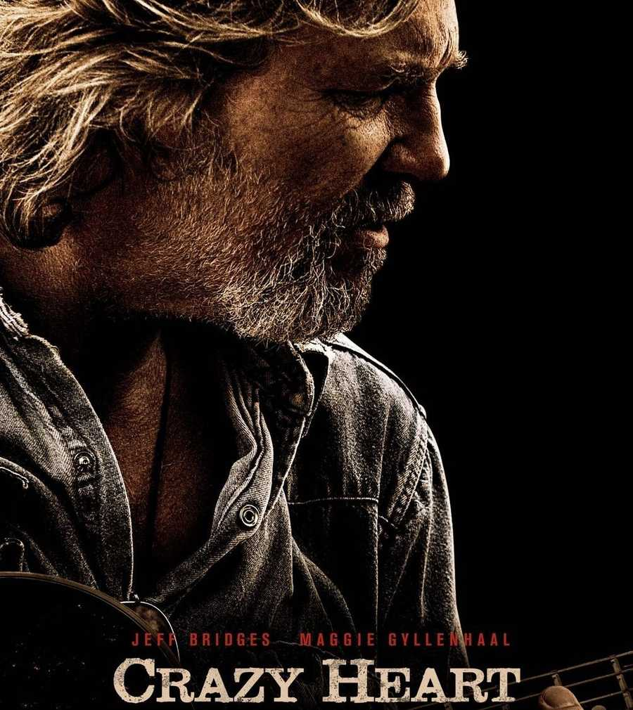 "In 2010, ""Crazy Heart's"" Jeff Bridges won the Oscar for Best Oscar. The film also won for best Original Song. ""Crazy Heart"" won both of those categories during the Golden Globes as well."