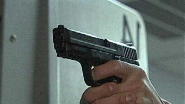 Gun Stock Shooting - 30286712