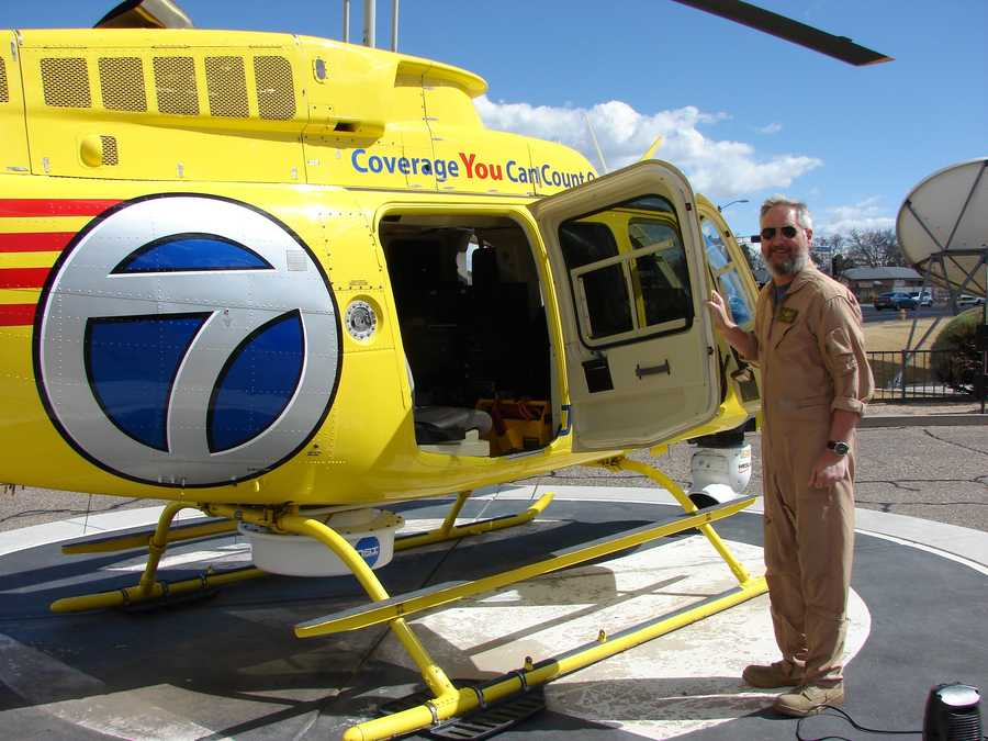 Neal Lawson is Sky 7's main pilot.