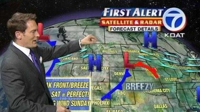 Eric Green gives Thursday's forecast.