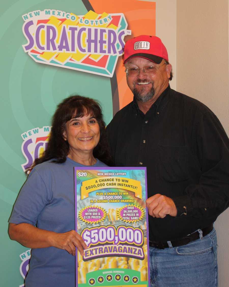 21. Lonnie Freyburger won $500,000 on a scratcher