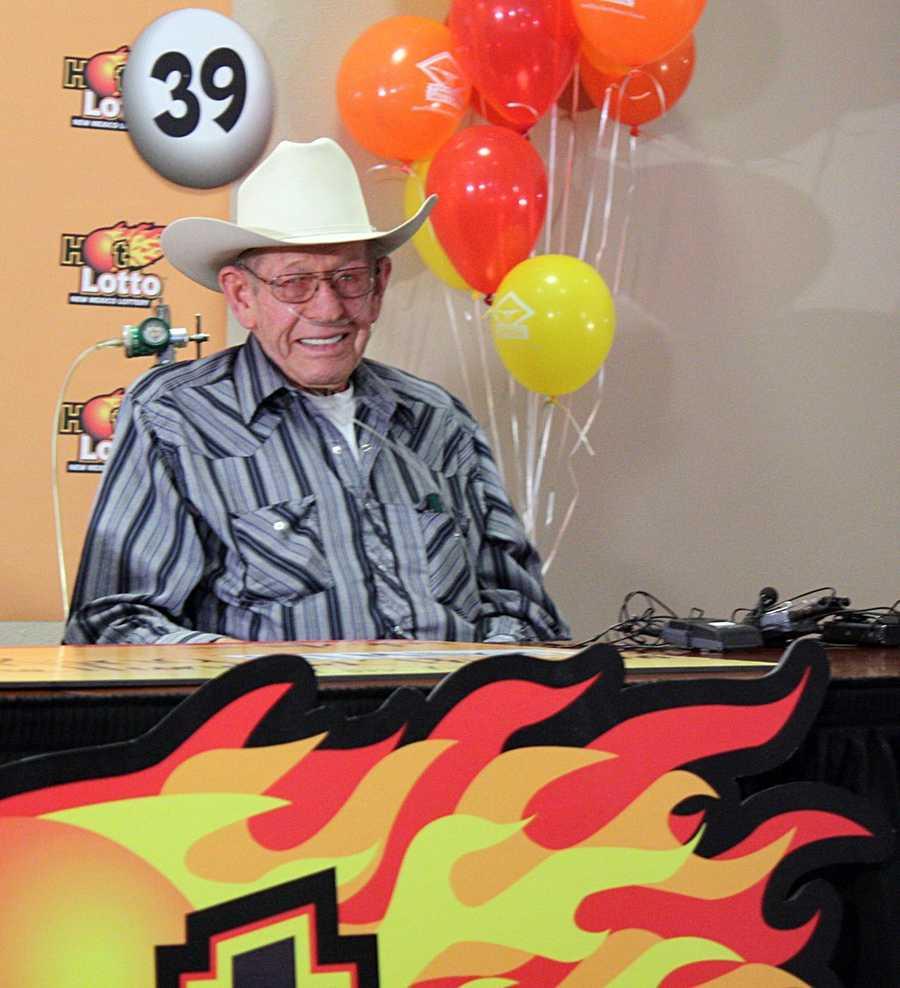 8. Aurbra King won a $1.1 million Hot Lotto jackpot in Elida, New Mexico
