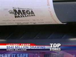 The odds of winning the Mega Millions jackpot are 1 in 176 million.