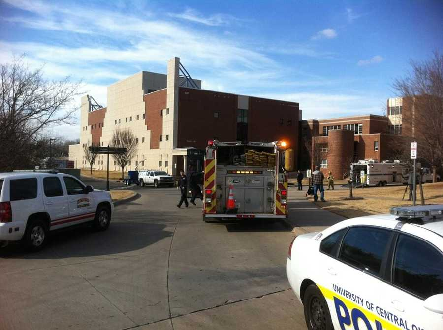 Howell Hall was evacuated after a dangerous chemical was found on Wednesday.