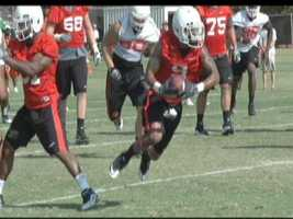 The Oklahoma State Cowboys had a three-hour practice on Tuesday and a walkthrough.