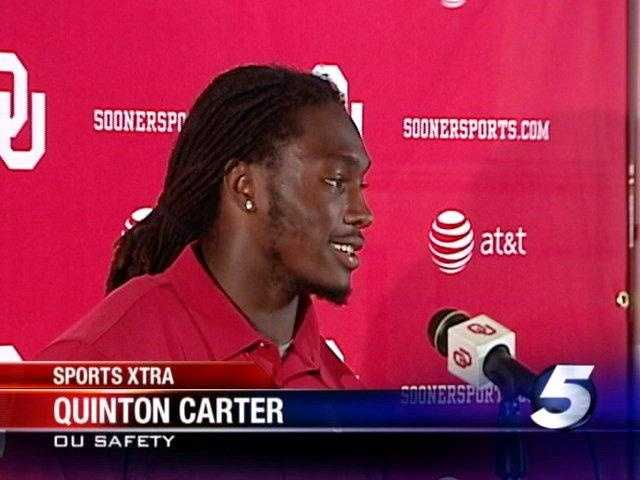 Quinton Carter (2007-10) was a consensus All-American in 2010 after a second-straight four-interception season and recording 96 tackles. He was drafted by the Broncos in 2011, and has 78 tackles and two sacks. He missed the entire 2013 season and part of the 2014 season because of injuries.