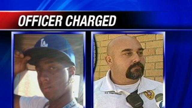Del City Police Capt. Randy Harrison is accused of felony manslaughter in the death of Dane Scott Jr.