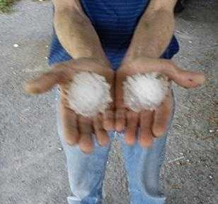 Hail rarely causes fatalities.