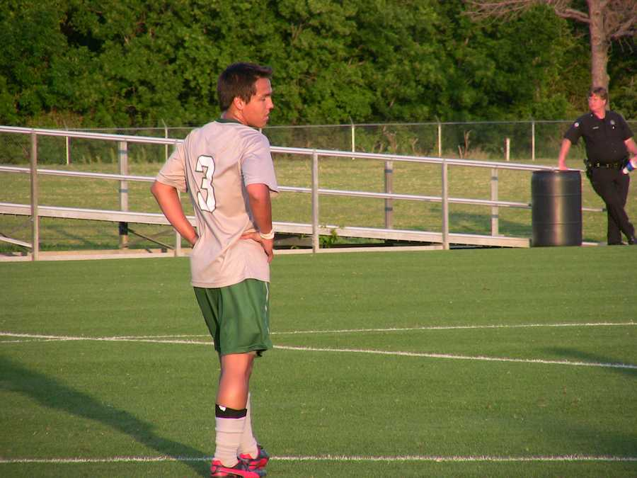 Littleaxe scored the first goal for Norman North in their 5-0 win.