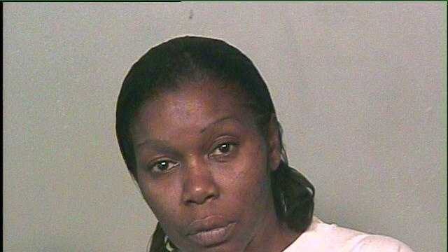 Connie Ann Dismuke, 46, was arrested on suspicion of threatening kids with a knife. Click for more.