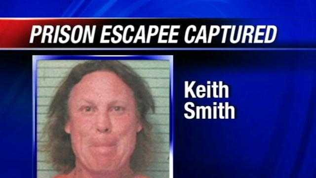 The third and final prision escapee who got out of the Okfuskee County Jail on Monday has been caught.