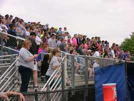 The #13 ranked Bronco's packed their bleachers with supports for the 4A championship game.