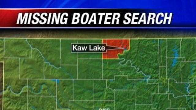 Authorities are searching for a teen who disappeared at Kaw Lake on Saturday.  The search will resume this morning