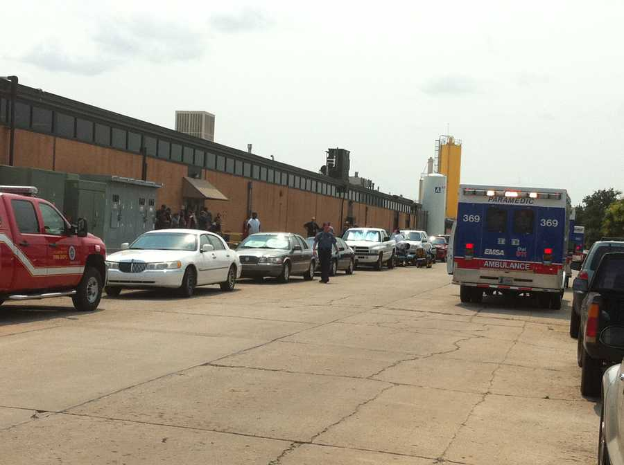 KOCO Eyewitness News 5's Carla Wade snapped these photos from the scene.