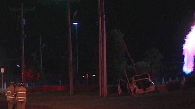 Oklahoma City police say a drunk driver hit a gas meter overnight.