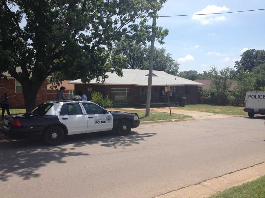 KOCO Eyewitness News 5's Naveen Dhaliwal sends us these photos from the scene of a carjacking in 3300 block of N. Phillips Ave.