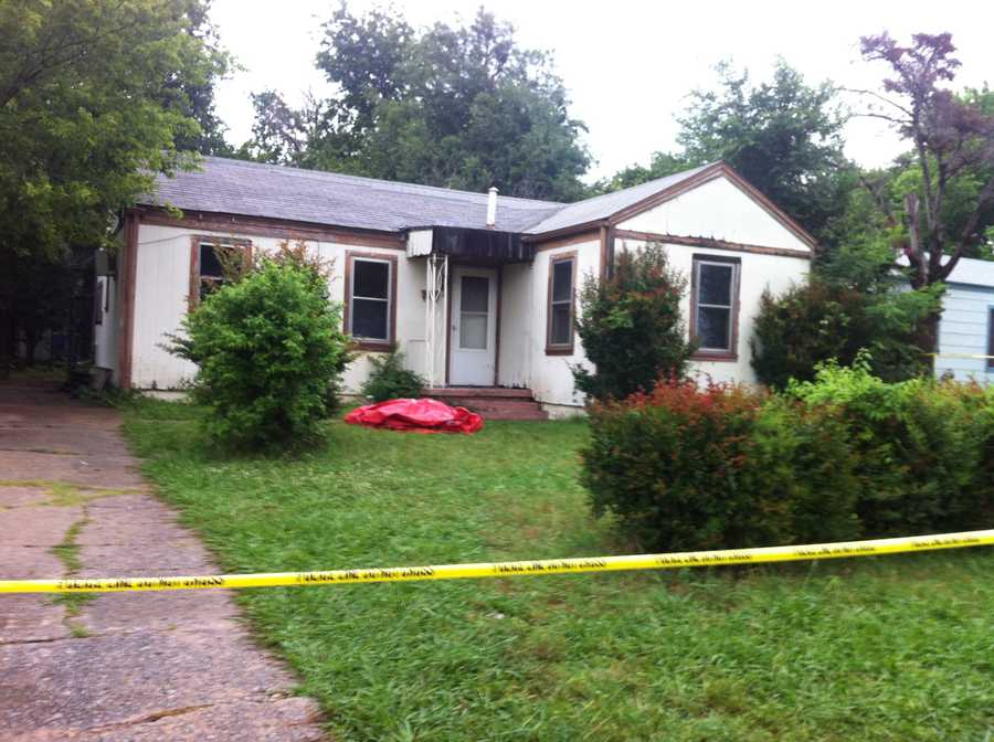 Family members said Scheetz had a troubled past, and his neighbors agreed.