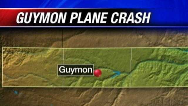 A small plane crashed late Tuesday in Guymon&#x3B; 2 injured