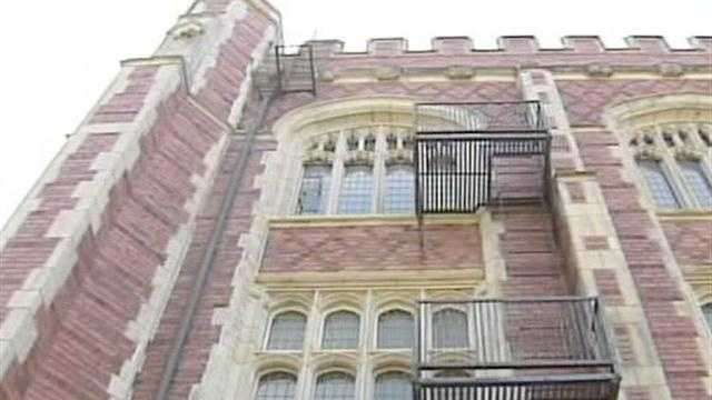 There are new details in the fatal fall on an OU student. Crews are making sure it never happens again by removing two fire escapes from Evans Hall on Monday.