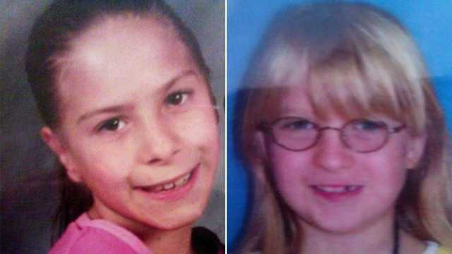 Police are searching for Chasity Regimbal and Samantha Duncan.