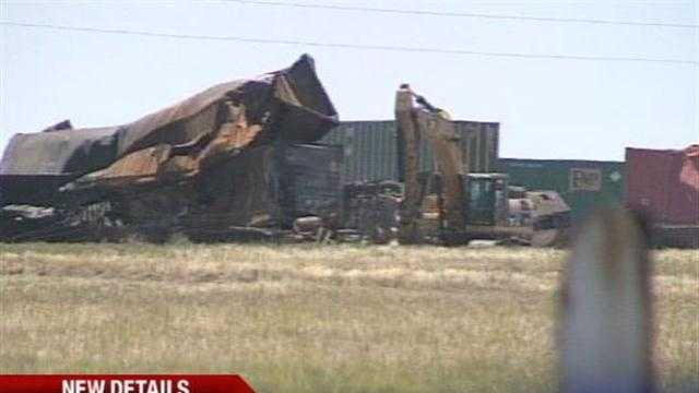 Oklahoma officials confirmed Monday that three people died in the Sunday morning train crash in Goodwell.