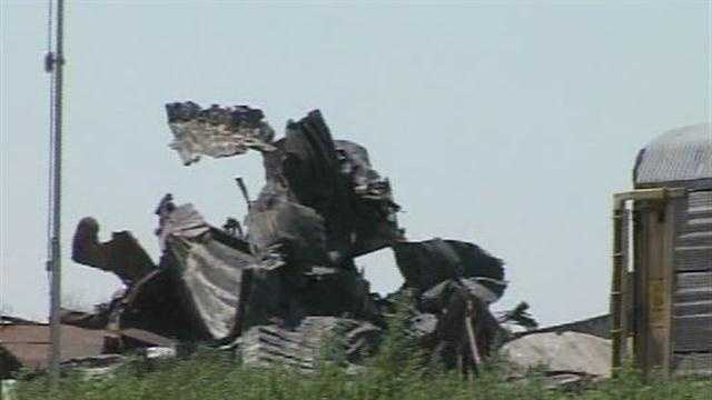 Investigators say human error caused the train crash in the Oklahoma panhandle.