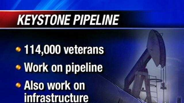 There are new developments with the Keystone Pipeline.