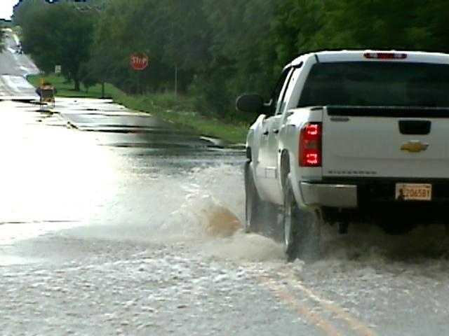 Blackwell has gotten no rain so far in July, according to the Oklahoma Mesonet.