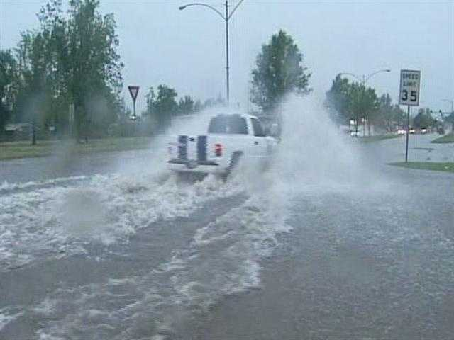 Chandler has gotten .41 inches of rain so far in July, according to the Oklahoma Mesonet.