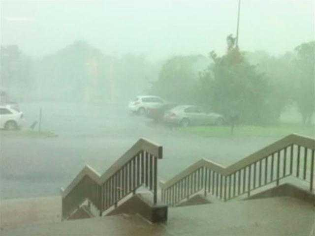 Durant has gotten .52 inches of rain so far in July, according to the Oklahoma Mesonet.
