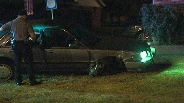 A driver is in jail Thursday after a wild chase.