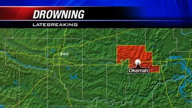 A man drowned in Okemah City Lake yesterday evening.