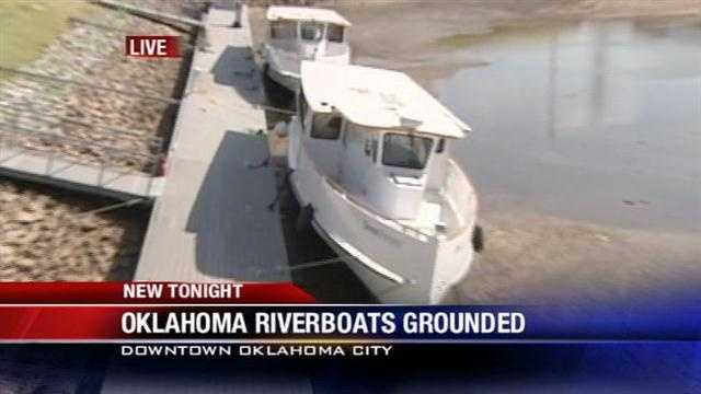 Dry conditions may keep some boats grounded. A mechanical error caused a gate to break this week along one of the Oklahoma River Dams. KOCO's Anita Blanton reports.