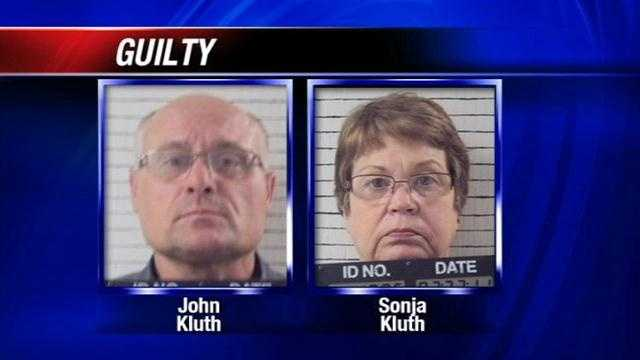 An Oklahoma couple will learn their sentence Tuesday for abusing their adoptive children.