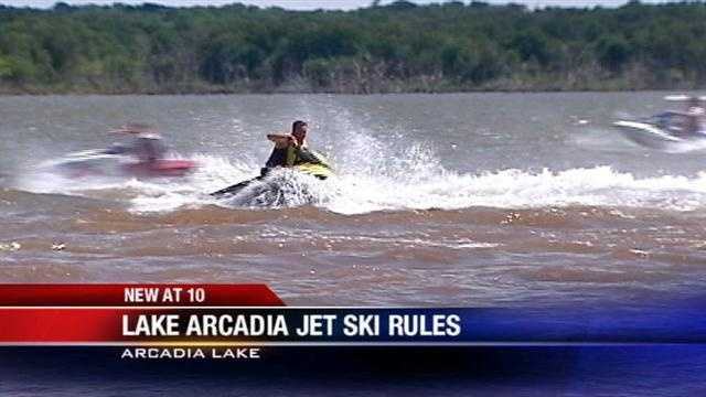 Local jet ski owners could soon have more room to ride at an Edmond lake.
