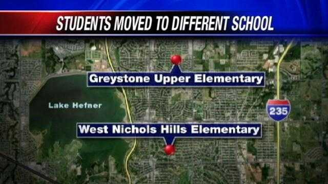 Students who attend West Nichols Hills Elementary will attend classes at Greystone Upper Elementary starting next week.