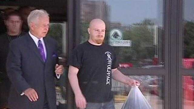 Justin Adams makes bail, out of jail