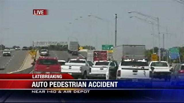 OHP: ODOT worker hit in auto-pedestrian accident
