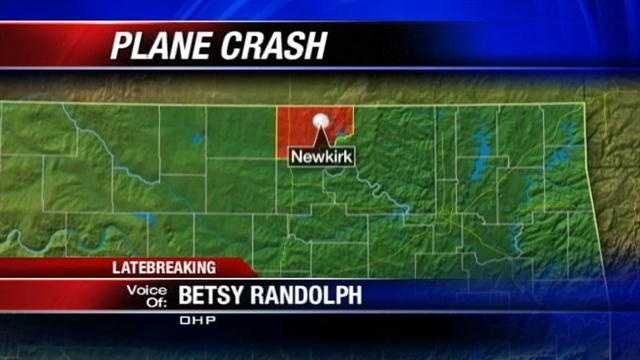 A Department of Wildlife employee was not injured in a plane crash near Newkirk on Tuesday. Oklahoma Highway Patrol spokeswoman Betsy Randolph has details.
