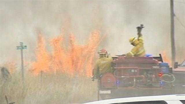 Firefighters close to controlling Lincoln County blaze