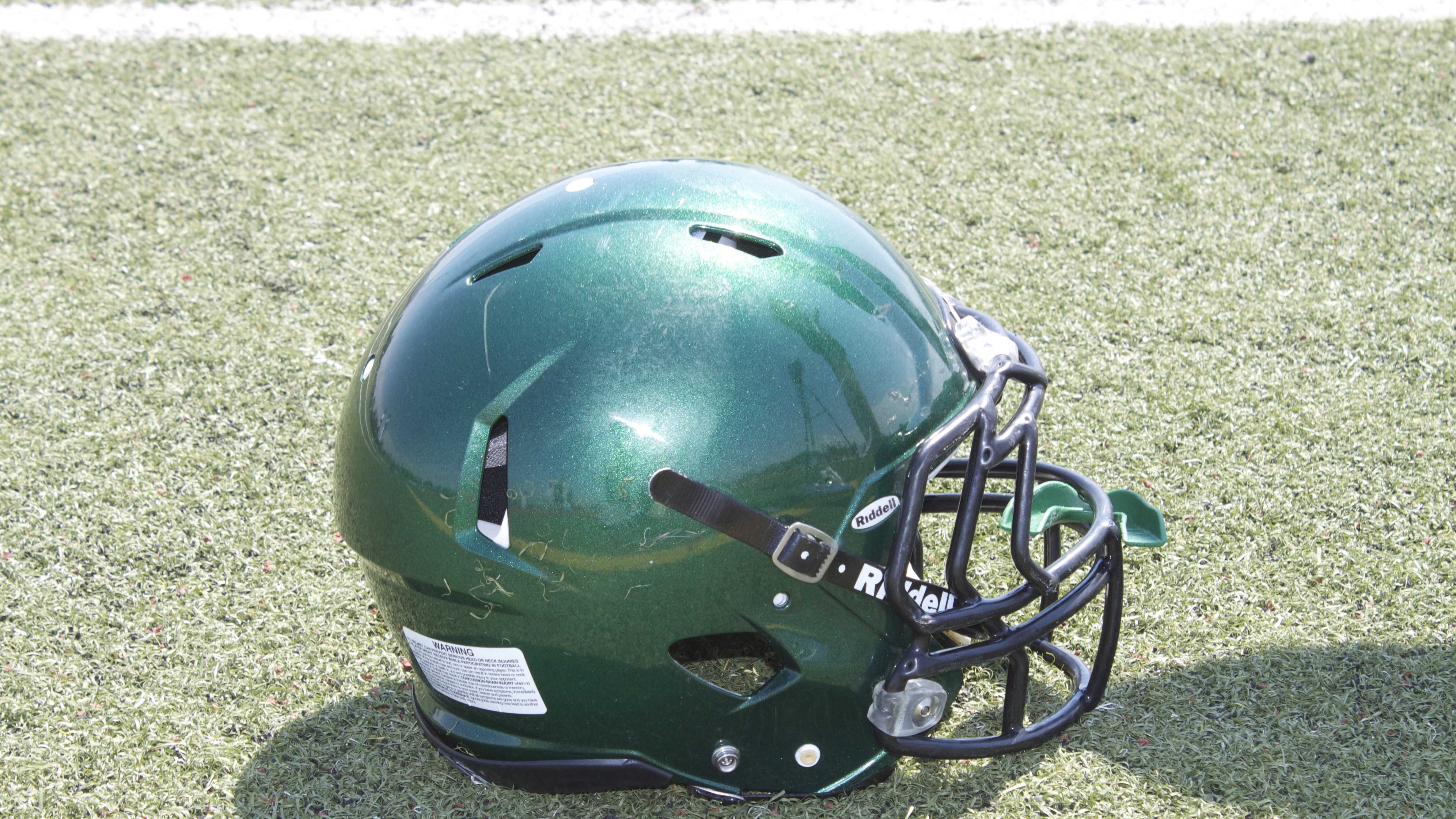 Edmond Santa Fe Wolves Helmet