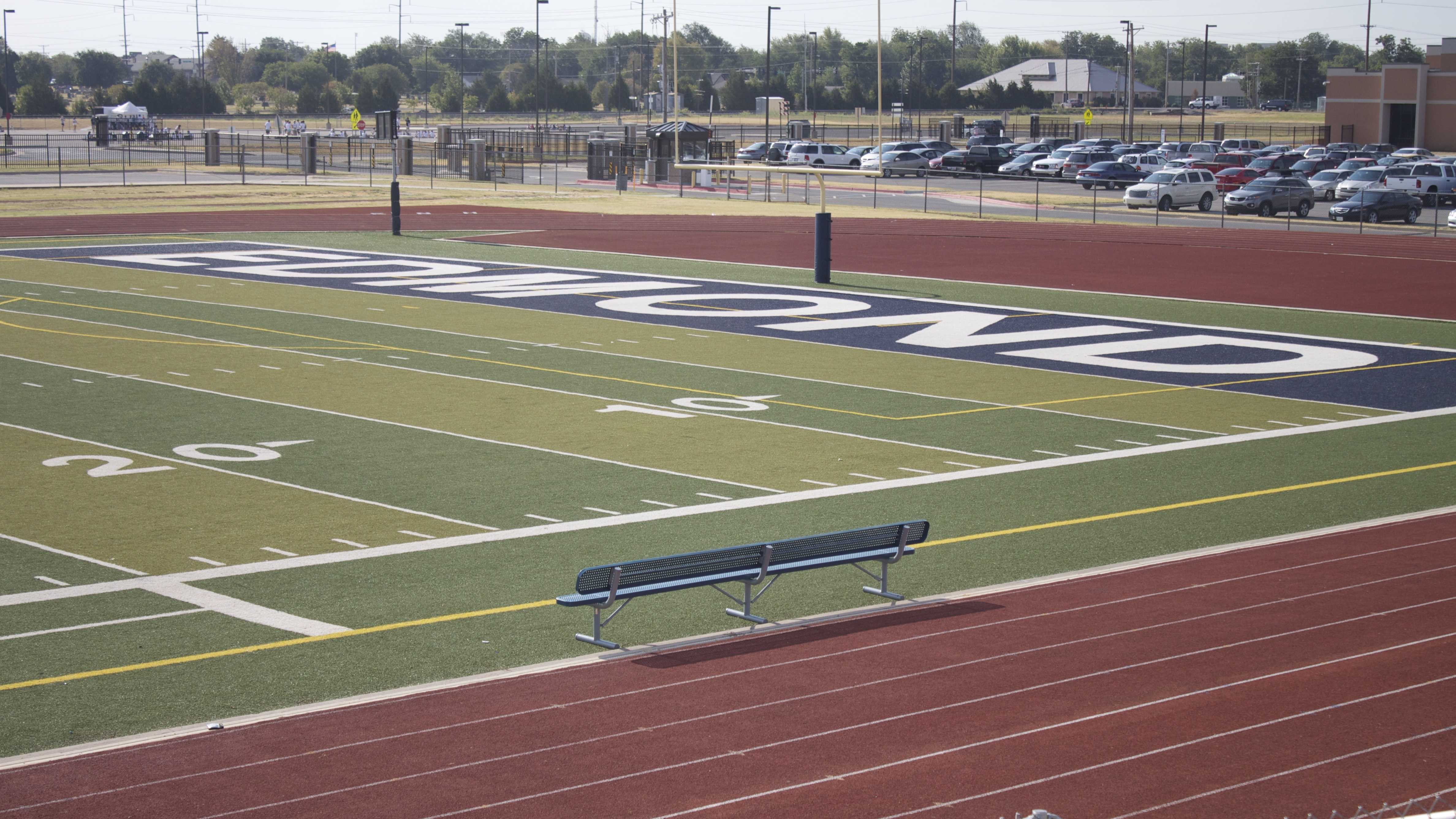 Edmond North Endzone