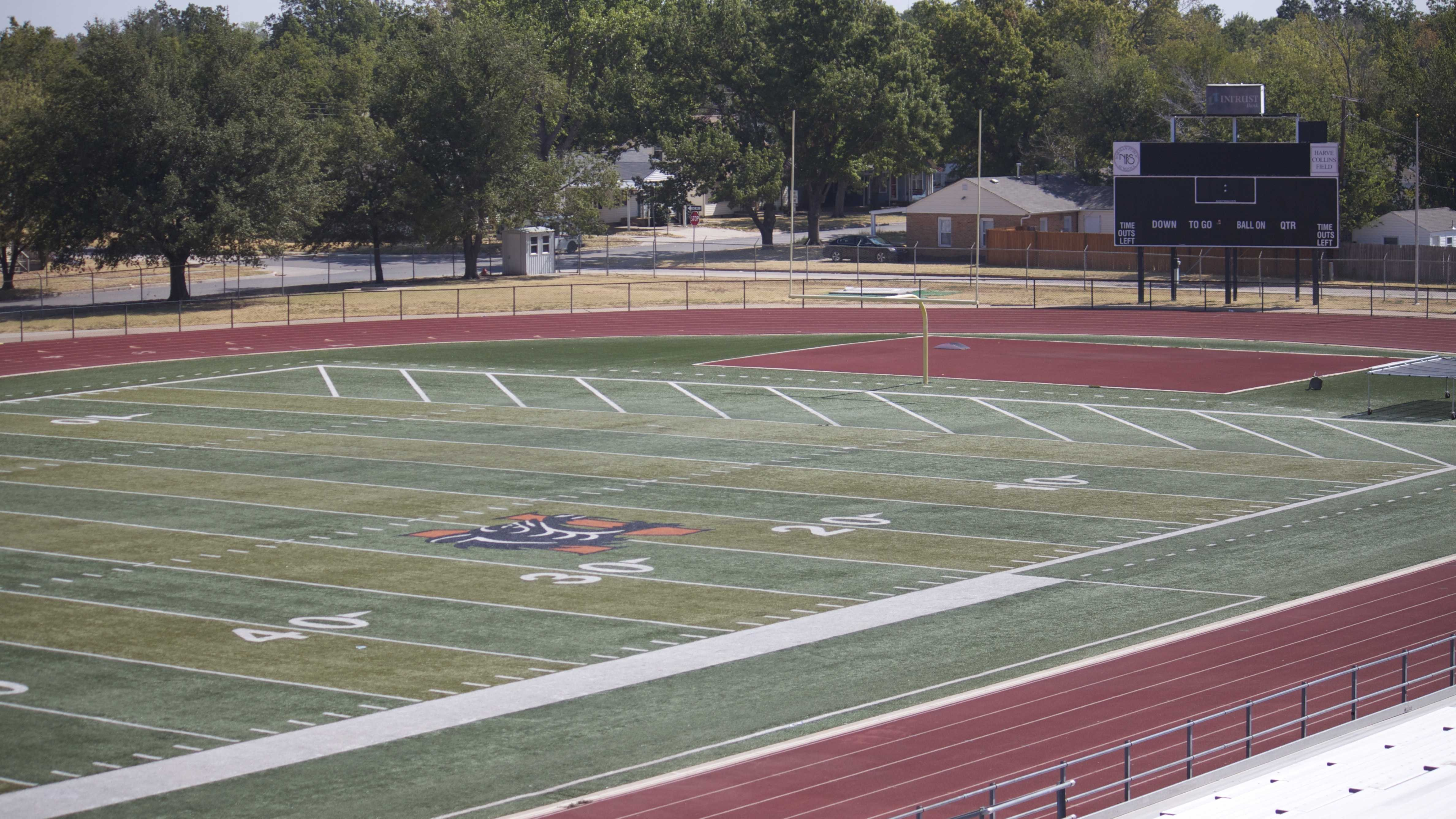 Norman Public Schools football field, Harve Collins Stadium.