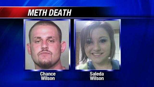 A 28-year-old man from Purcell is charged with killing his sister by injecting her with methamphetamine.