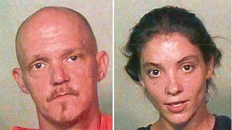 Harold Phillips, left, and Megan Bradley, right