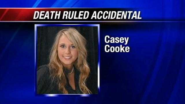 The medical examiner has released an autopsy report on Casey Cooke, who died in early June. Police say Cooke fell from a building on the OU campus.