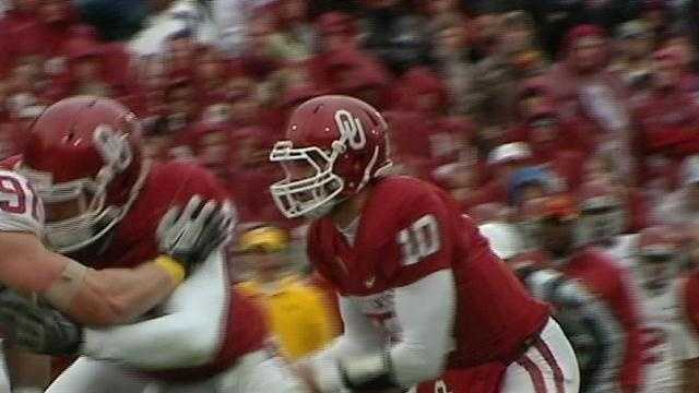 Quarterback-turned-tight end Blake Bell was a fan favorite as the Bell-dozer at OU from 2011 to 2014. The San Francisco 49ers drafted him in the fourth round earlier this year.