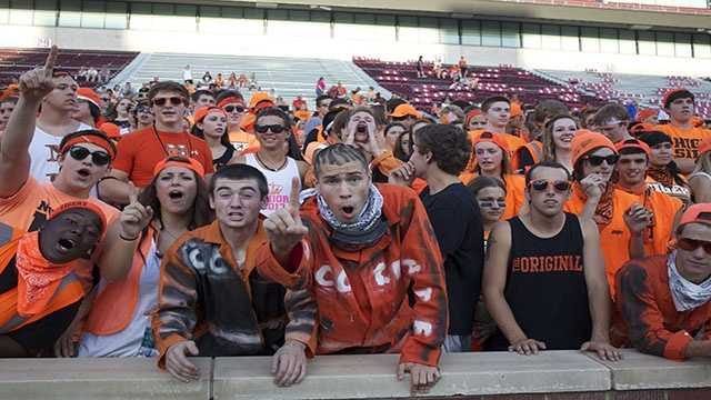 The Tigers bring a loud and rowdy crowd year after year.