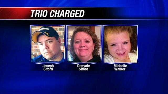 Trio charged with rape, failure to report abuse