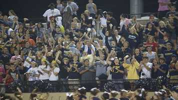 Southmoore had a packed student section that made sure to be heard all game long.